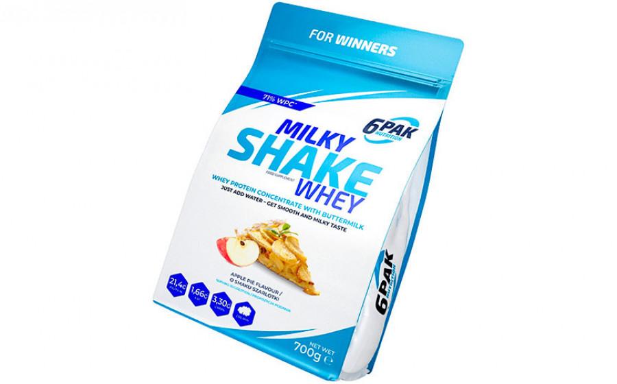 6Pak MilkyShake WHEY 700 g
