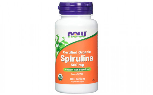 NOW Spirulina 500 мг - 100 таб