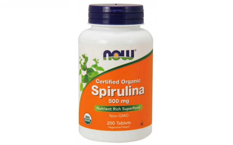 NOW Spirulina 500 мг - 200 таб