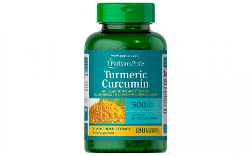 Puritan's Pride Turmeric Curcumin  500 мг 180 капс