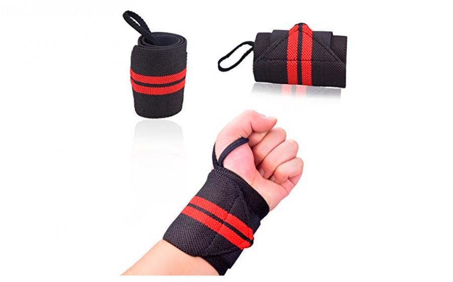 Кистевые бинты средней жесткости для силовых тренировок