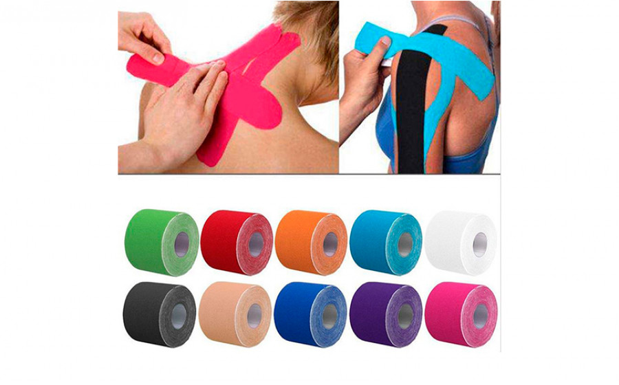 Тейпы Kinesio Sports Muscle Care