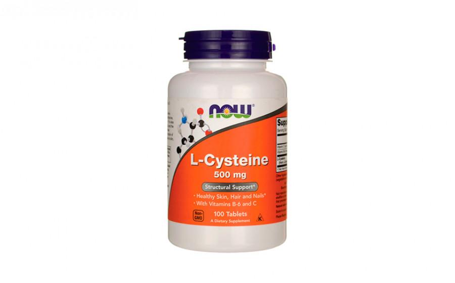 NOW L-Cysteine 500 мг - 100 таб