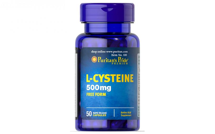 Puritan's Pride L-Cysteine 500 мг - 50 капс