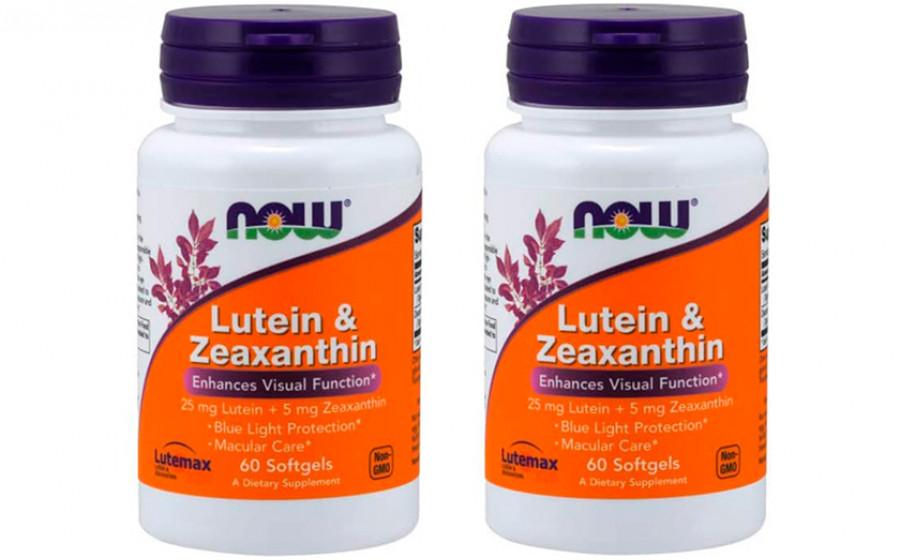 NOW Lutein & Zeaxanthin - 60 капс