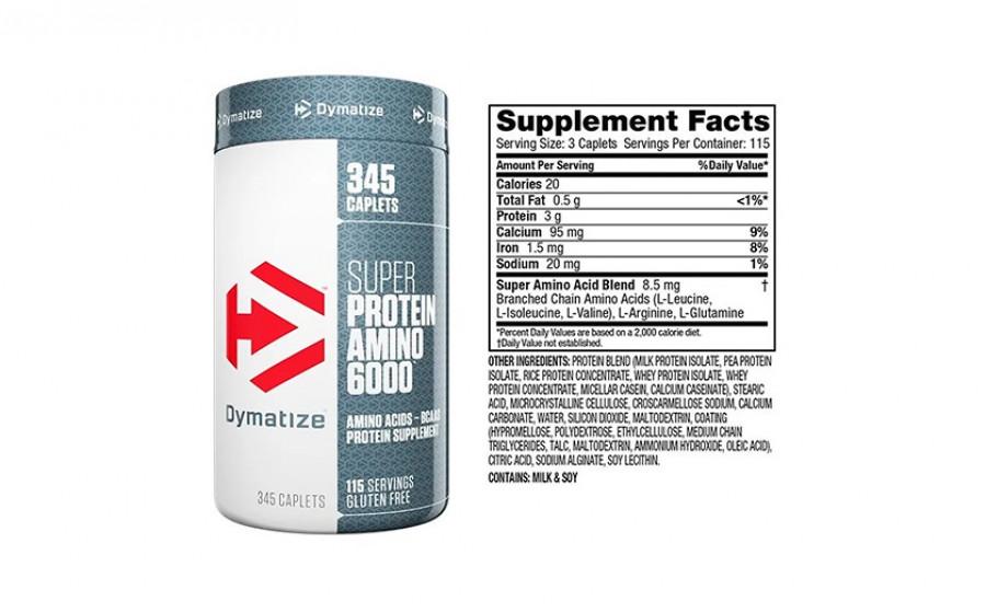Dymatize Super Protein Amino 6000 345 tab