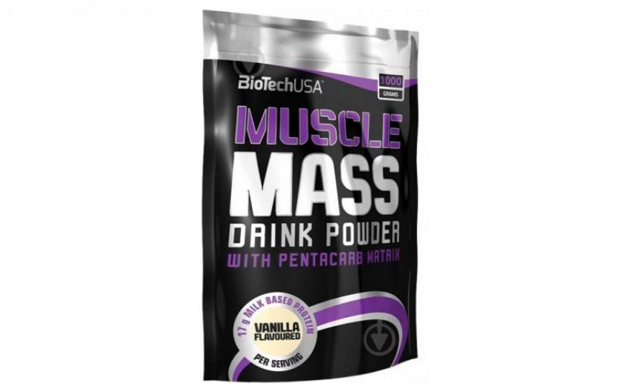 Biotech USA Muscle Mass 1000 г