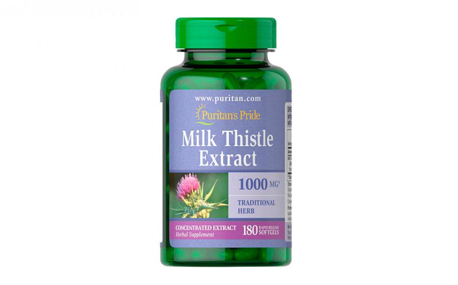 Puritan's Pride Milk Thistle 180 капс
