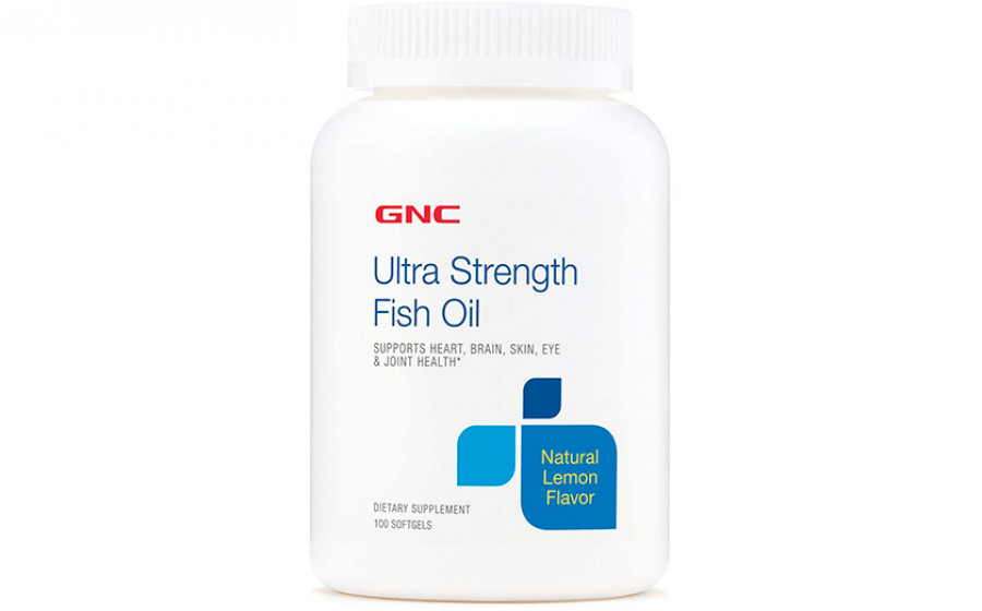 GNC Ultra Strenght Fish Oil 600 mg 100 caps