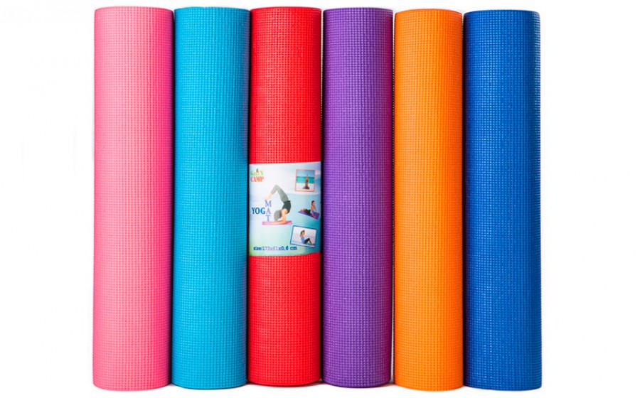 Green Camp Yoga Mat