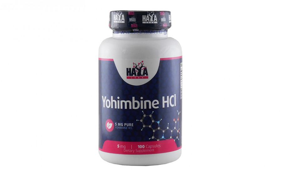 Haya Labs Yohimbine HCL 100 caps