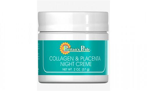 Puritan's Pride Collagen and Placenta cream 57 г