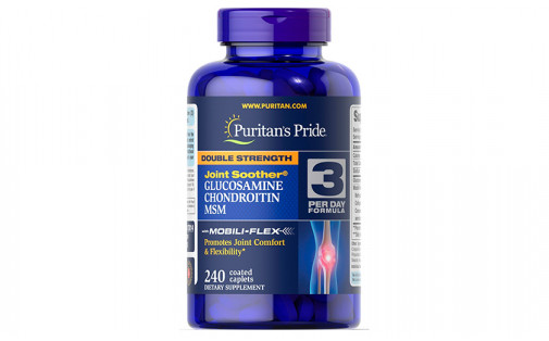 Puritan's Pride Double Strength Glucosamine Chondroitin - 240 та
