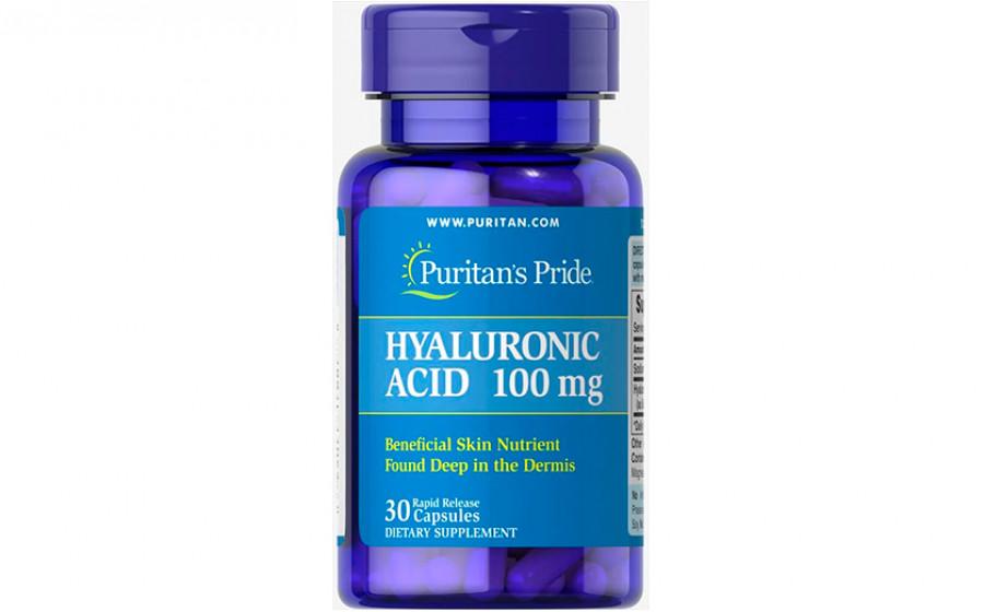 Puritan's Pride Hyaluronic Acid 100 mg 30 капс