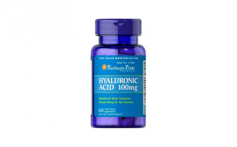 Puritan's Pride Hyaluronic Acid 100 мг 60 капс