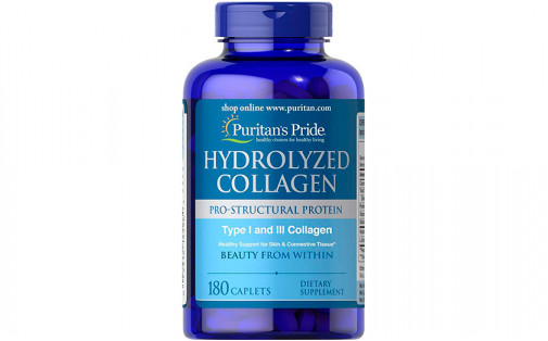 Puritan's Pride Hydrolyzed Collagen 180 капс