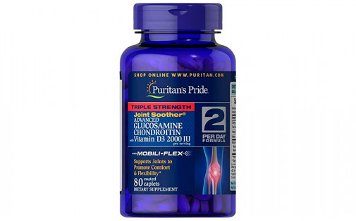 Puritan's Pride Triple Strength Advanced Glucosamine Chondroitin