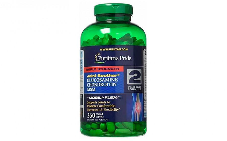 Puritan's Pride Triple Strength Glucosamine Chondroitin MSM 360