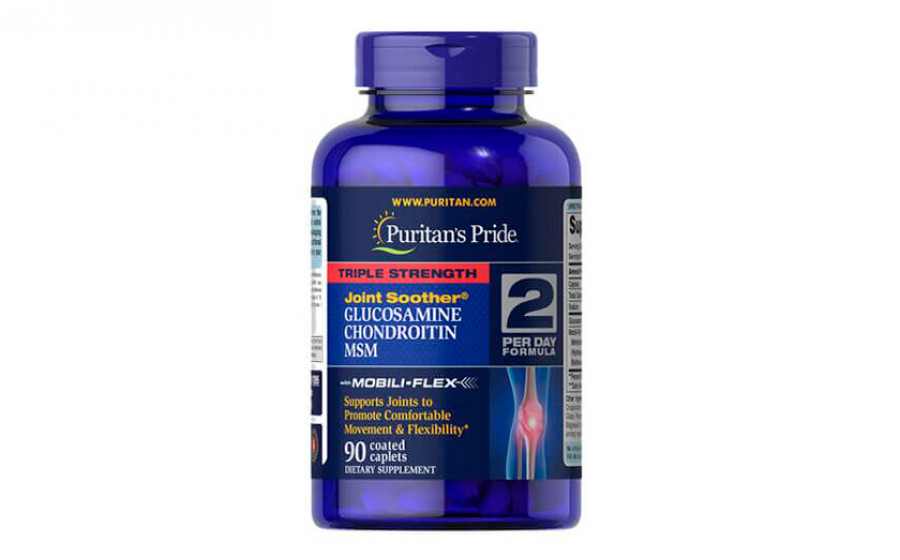 Puritan's Pride Triple Strength Glucosamine Chondroitin MSM 90 т