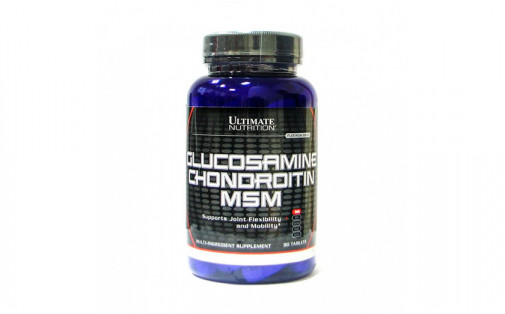Ultimate Nutrition - Glucosamine Chondroitin & MSM - 90 таб