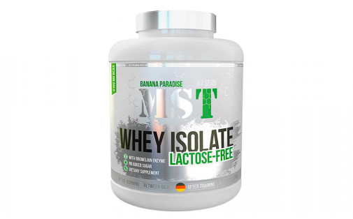 MST WHEY Isolate 2,177 kg lactose free