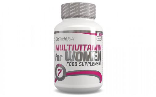 Biotech USA Multivitamin For Women 60 tab
