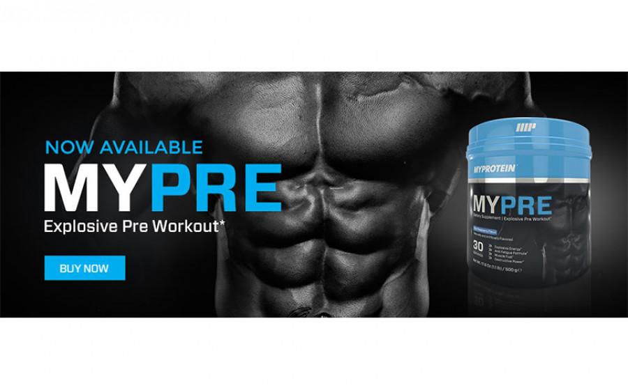 MyProtein MyPre 500 г