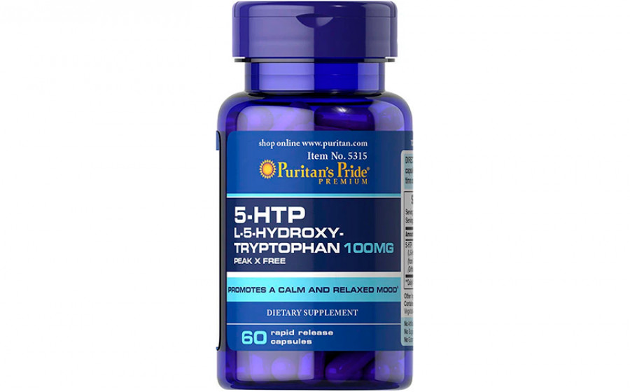 Puritan's Pride 5-HTP 100 мг 60 капс