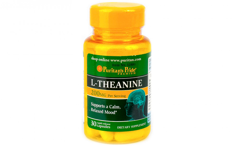 Puritan's Pride L-Theanine 100 мг 30 капс