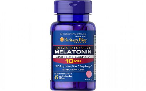 Puritan's Pride Melatonin 10 мг 45 таб