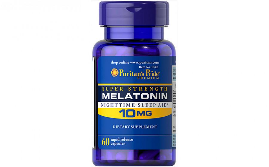 Puritan's Pride Melatonin 10 мг 60 caps