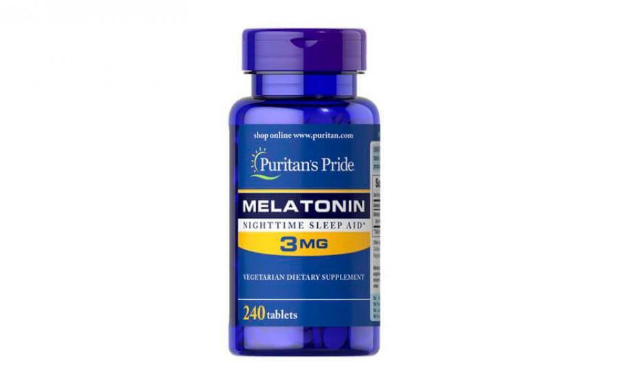 Puritan's Pride Melatonin 3 мг - 240 таб