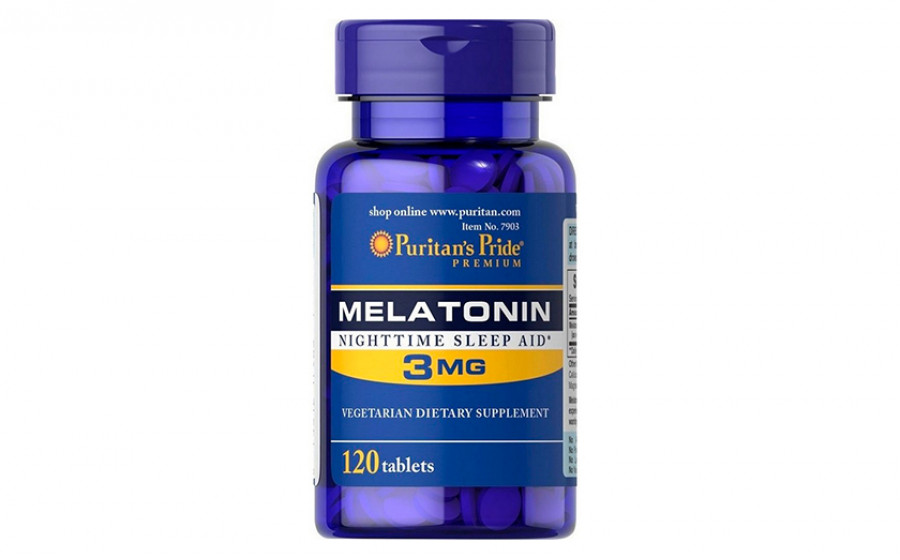 Puritan's Pride Melatonin 3 мг 120 таб