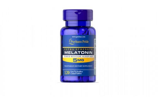 Puritan's Pride Melatonin 5 мг 120 капс