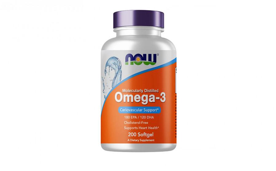 NOW Omega-3 300 mg 200 caps