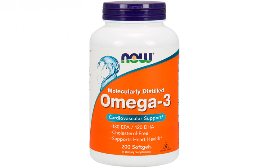 NOW Omega-3 300 mg 200 caps