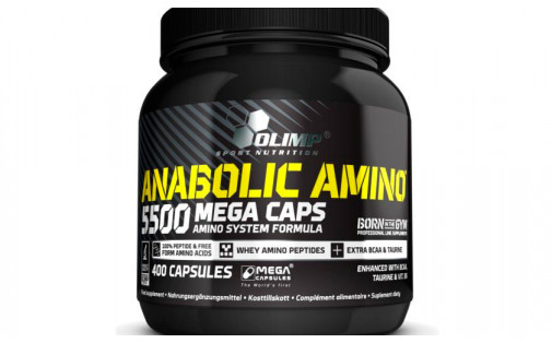 Olimp Anabolic Amino 5500 400 caps