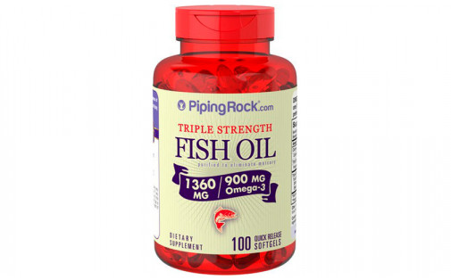PipingRock Fish Oil 900 mg 100 caps