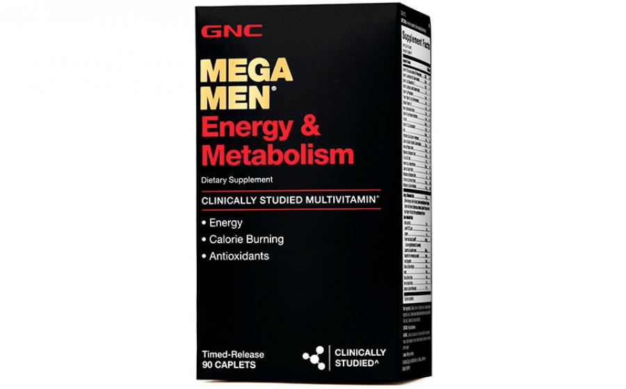 GNC Mega Men Energy&Metabolism 90 таб