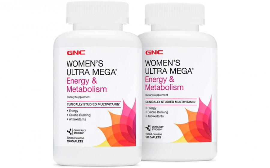 GNC Women's Ultra Mega Active Energy&Metabolism 180 таб