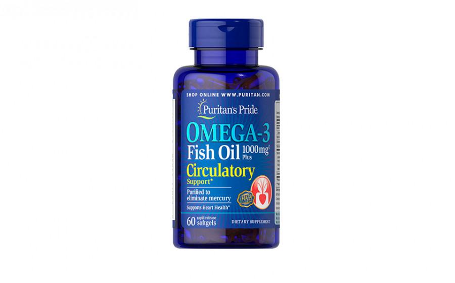 Puritan's Pride Fish Oil 300 mg 60 caps