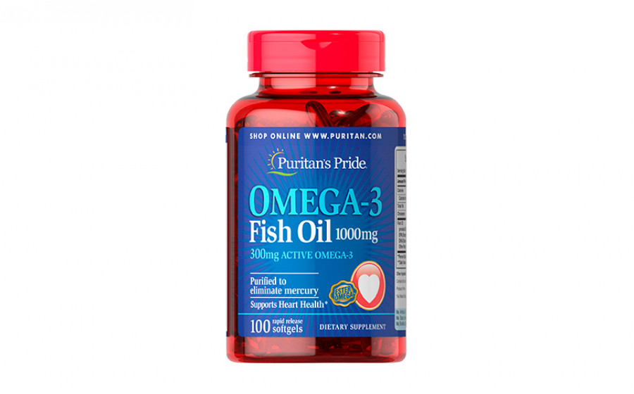 Puritan's Pride Omega-3 300 mg 100 caps