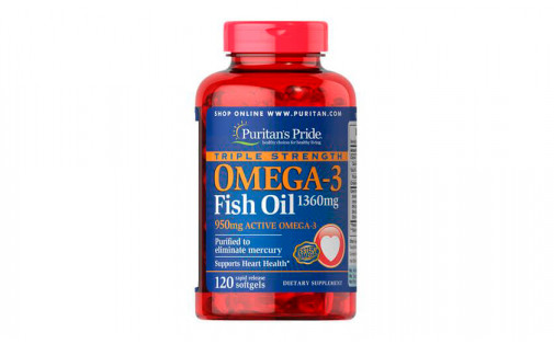 Puritan's Pride Omega-3 950 mg 120 caps