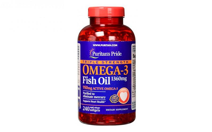 Puritan's Pride Omega-3 950 mg 240 caps