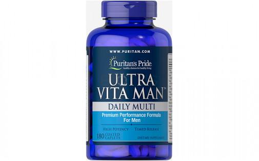 Puritan's Pride Ultra Vita Man 180 каплет