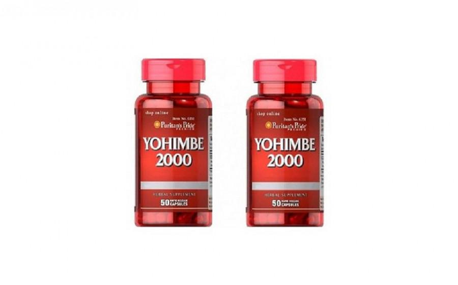 Puritan's Pride Yohimbe 2000 50 caps