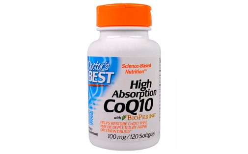 Doctor's Best Коэнзим Q10 100 мг 120 капс