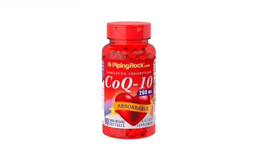 Piping Rock Коэнзим Q10 200 мг 90 капс