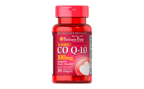 Puritan's Pride Коэнзим Q10 100 мг 30 капс