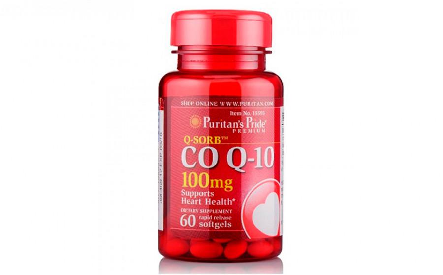 Puritan's Pride Коэнзим Q10 100 мг 60 капс